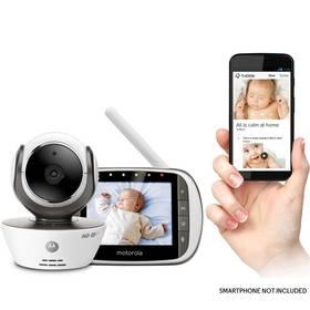 Motorola MBP853 Connect HD, Camera Wi-Fi bílá + Doprava zdarma
