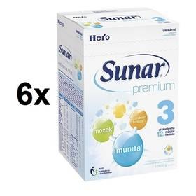 Sunar Premium 3, 600g x 6ks