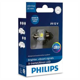 Philips X-tremeUltinon LED C5W, 30mm, 6000K, 1ks (129416000KX1)