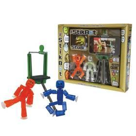Hračka StikBot - sada 2 figurky a stativ
