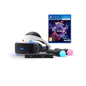 Sony PlayStation VR + Kamera + MOVE Twin Pack + VR WORLDS (PS719880561) + Doprava zdarma
