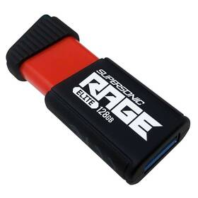 Patriot Supersonic Rage Elite 128GB (PEF128GSRE3USB) černý