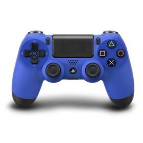 Gamepad Sony Dual Shock 4 pro PS4 - modrý (PS719201397) modrý