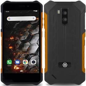 myPhone Hammer Iron 3 3G (TELMYAHIRON3GOR) černý/oranžový
