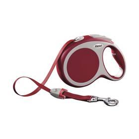 Flexi VARIO L Pásek 8m/50kg červené + Doprava zdarma
