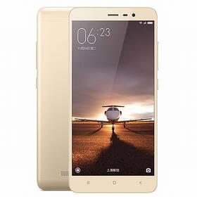 Xiaomi Redmi Note 3 LTE (472559) zlatý + Doprava zdarma