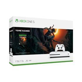Microsoft Xbox One S 1 TB + Shadow of the Tomb Raider (234-00783) + Doprava zdarma