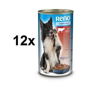 Reno pro psa s hovězím 12 x 1240g