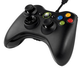 Microsoft Common Controller pro PC, Xbox 360 (52A-00005) černý