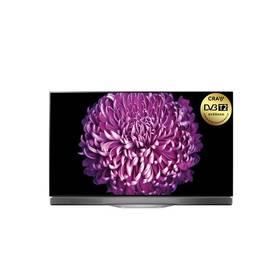LG OLED55E7N stříbrná + při nákupu OLED televize LG až 8 000 Kč + Doprava zdarma