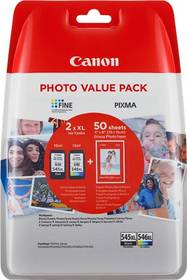 Canon PG-545XL/CL-546XL PHOTO VALUE Pack, CMYK (8286B006)