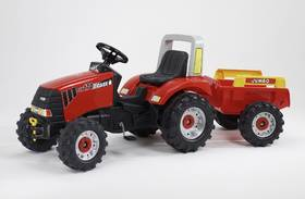 FALK Case IH CVX 170 + přívěs červený/plast + Doprava zdarma