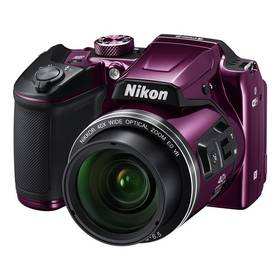 Nikon Coolpix B500 fialový + Doprava zdarma