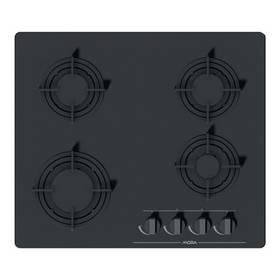 Plynová varná platňa Mora VDP 645 GB3 čierna/sklo