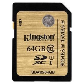 Kingston SDXC 64GB UHS-I U1 (90R/45W) (SDA10/64GB)
