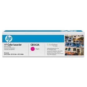 HP CB543A, 1,4K stran - originální (CB543A) červený