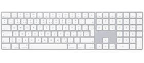 Apple Magic s numerickou klávesnicí - Czech (mq052cz/a) bílá + Doprava zdarma