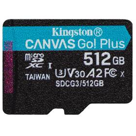 Kingston Canvas Go! Plus MicroSDXC 512GB UHS-I U3 (170R/90W) (SDCG3/512GBSP)