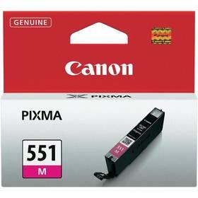 Canon CLI-551 M, 298 stran - originální (6510B001) červená