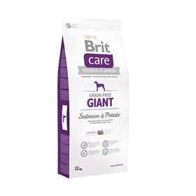 Brit Care Grain-free Giant Salmon & Potato 12 kg Granule Brit Care Grain-free Giant Salmon & Potato 3 kg (zdarma) + Doprava zdarma