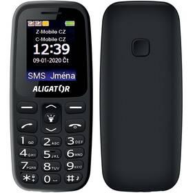 Aligator A220 Senior Dual SIM (A220BK) čierny