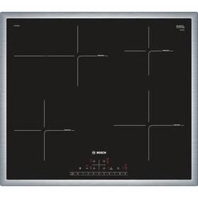 Bosch PIF645FB1E černá/nerez + Doprava zdarma