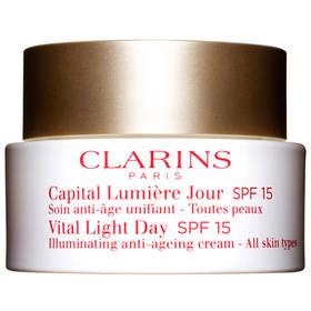Ochranný denní krém pro všechny typy zralé pleti Vital Light Day SPF 15 (Illuminating Anti-Ageing Cream All Skin Types) 50 ml + Doprava zdarma