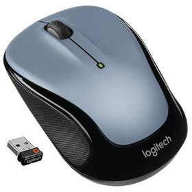 Logitech Wireless Mouse M325 Light Silver (910-002334) + Doprava zdarma