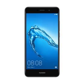 Huawei Y7 Dual SIM (SP-Y7DSTOM) šedý SIM s kreditem T-Mobile 200Kč Twist Online Internet (zdarma) + Doprava zdarma