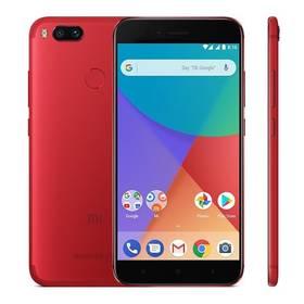 Xiaomi Mi A1 64 GB Dual SIM CZ LTE (17367) červený Software F-Secure SAFE, 3 zařízení / 6 měsíců (zdarma) + Doprava zdarma