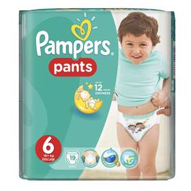 Pampers Carry Pack vel. 6, 19ks