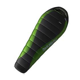 Husky péřový Dinis -10 C černý/zelený + Stan Loap BEACH SHELTER pro 4 osoby - zelená v hodnotě 719 Kč + Doprava zdarma