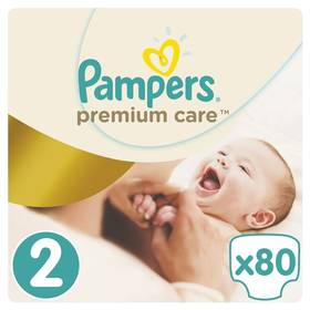 Pampers Premium Care Mini, vel. 2, 80 ks