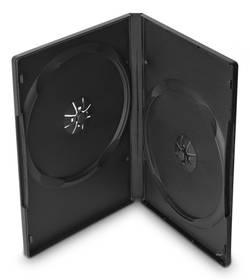 Cover IT pro 2 DVD, 14mm, 10ks/bal (27115P10) černý
