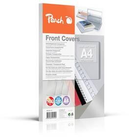 Peach přední desky, A4, 100ks (PB100-19) průhledná