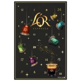 L'or Espresso Adventní kalendář 24 ks