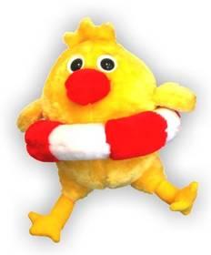 Kuře malé (20 cm) žlutá barva