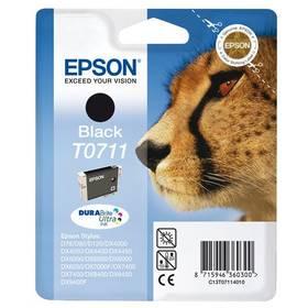 Epson T0711, 245 stran - originální (C13T07114011) čierna