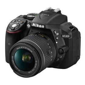Nikon D5300 + AF-P 18-55 VR černý + Doprava zdarma