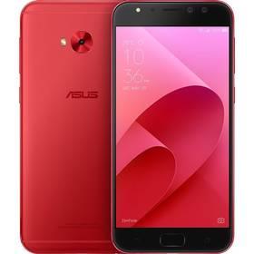 Asus ZenFone 4 Selfie Pro (ZD552KL-5C023WW) (ZD552KL-5C023WW) červený SIM s kreditem T-Mobile 200Kč Twist Online Internet (zdarma) + Doprava zdarma