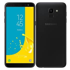 Samsung Galaxy J6 Dual SIM (SM-J600FZKUXEZ) černý SIM s kreditem T-Mobile 200Kč Twist Online Internet (zdarma)