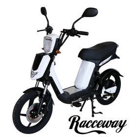 RACCEWAY E-Babeta E-BABETA, bílý-matný biela farba