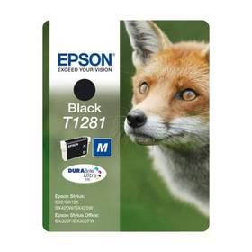 Epson T1281, 5,9ml - originální (C13T12814011) čierna
