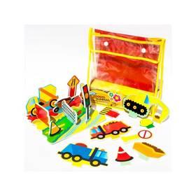 Sada Meadow Kids Pěnové hračky do vany - Stavební stroje