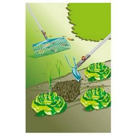 Gardena SET hrábě na listí s násadou a motyčka (3086-20)