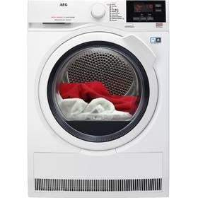 Sušička prádla AEG AbsoluteCare® T8DBG48WC biela