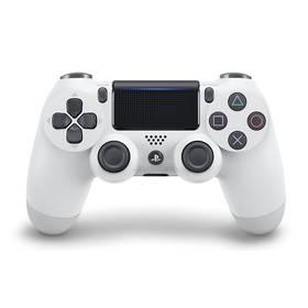 Sony Dual Shock 4 pro PS4 v2 - ledově bílý (PS719894650) + Doprava zdarma