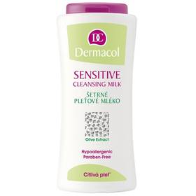 Šetrné pleťové mléko pro citlivou pleť (Sensitive Cleansing Milk) 200 ml