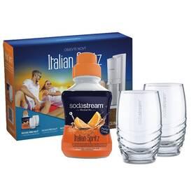 SodaStream talian Spritz + 2 sklenice