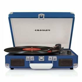 Crosley Cruiser Deluxe (CR8005D-BL4) modrý + Doprava zdarma